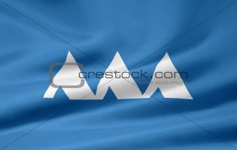 Flag of the japanese province of Yamagata
