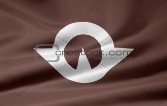 Flag of the japanese province of Yamaguchi