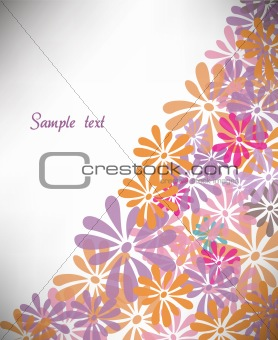 Abstract colorfull background. Vector