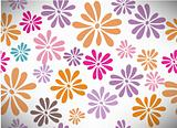 Abstract colorfull background. Seamless vector