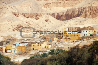 Ancient Egyptian village