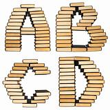 ABC  from books.