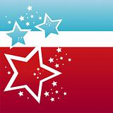 american  stars background