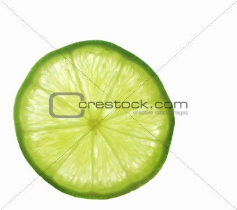 A Slice of Lime from Close