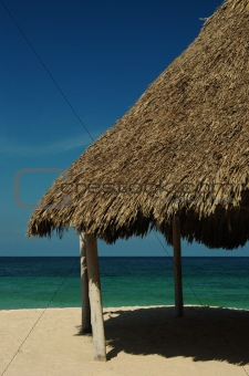Beach Hut on the Northern Colombian Coast