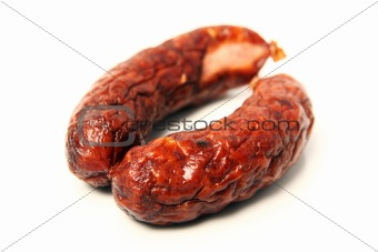 Traditional Polish sausage