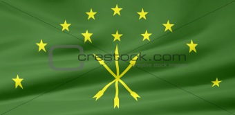 Flag of the Republic of Adygea