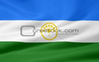 Flag of the Republic of Bashkortostan