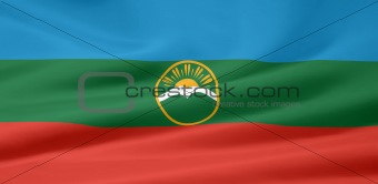 Flag of the Republic of Karachay-Cherkessia