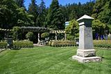 Gardens at Hatley Castle, Victoria, BC, Canada