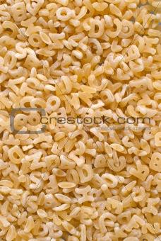 Alphabet noodle