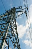 High-tension pylon