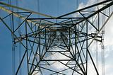 High-tension pylon