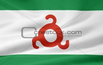 Flag of the Republic of Ingushetia