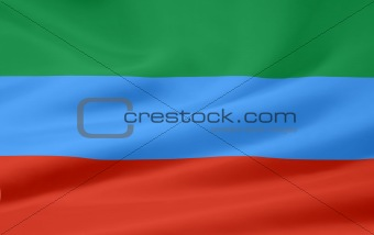 Flag of the Republic of Dagestan