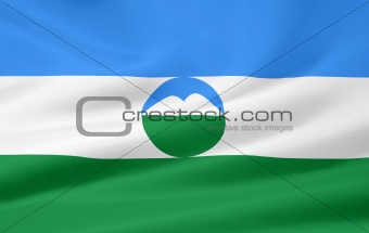 Flag of the Kabardino-Balkar Republic
