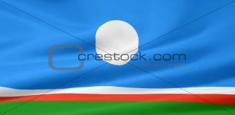 Flag of the Sakha Republic (Yakutia)