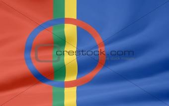 Flag of Sapmi Area