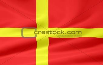 Flag of Scania - Sweden