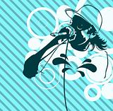 Rap Music Illustration