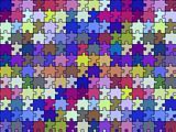 retro seamless puzzle texture