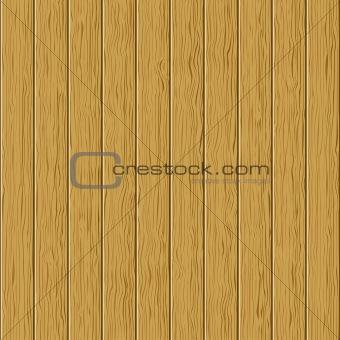 Wooden board fence
