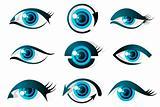 Set of Eye