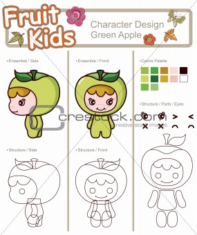 Little Child GREEN APPLE