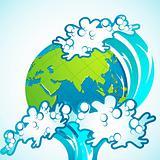 Tsunami on Earth