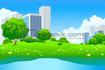 Green City Landscape