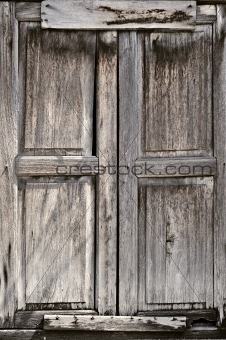 grungy door