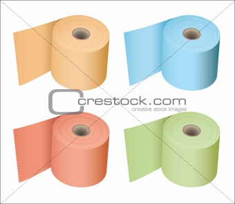 Toilet roll collection