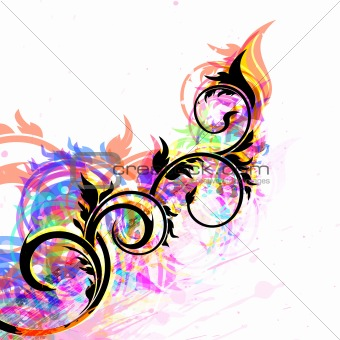 abstract background, vector