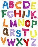 Color paper ABC