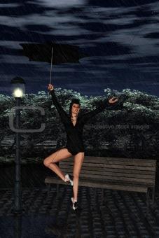 I´m singing in the rain