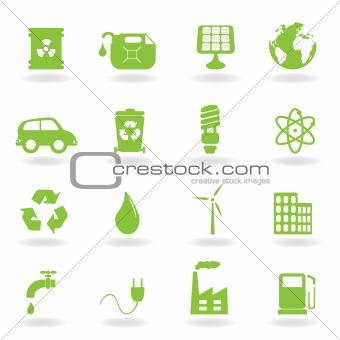 Environment and eco symbols