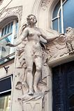 bas-relief in Prague