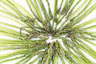 Asparagus Towards Center