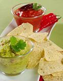 Guacamole with Tacos