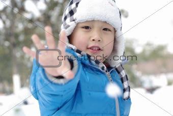 boy hand