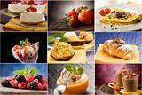 Dessert - Collage