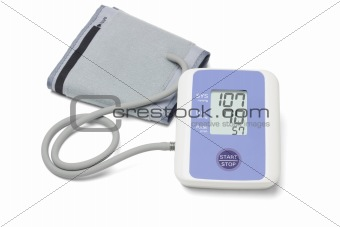 Automatic digital blood pressure monitoring meter
