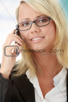 Attractive young business women
