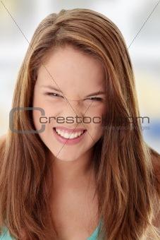 Beautiful Angry Teenager