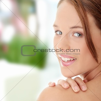 Portrait of Fresh and Beautiful woman