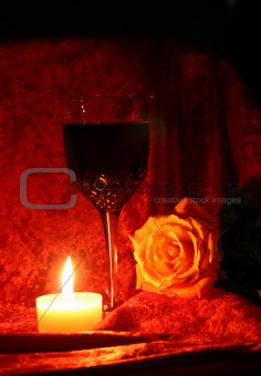 Candle Rose Port 2