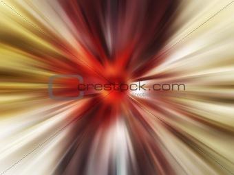 Abstract blast