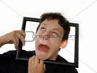 Framed boy