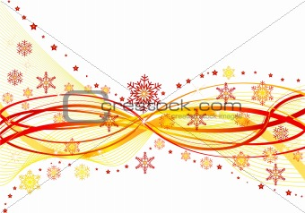 Abstract artistic  design celebration  background  - vector illustration