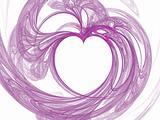 Complete Heart Hollyhock